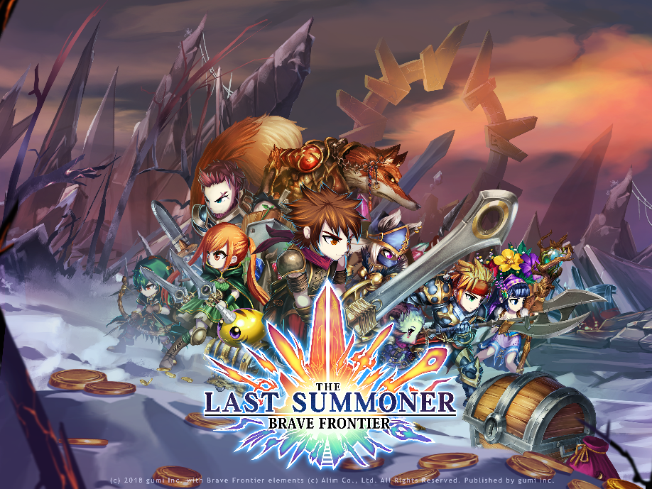 brave frontier the last summoner のグローバル配信を開始